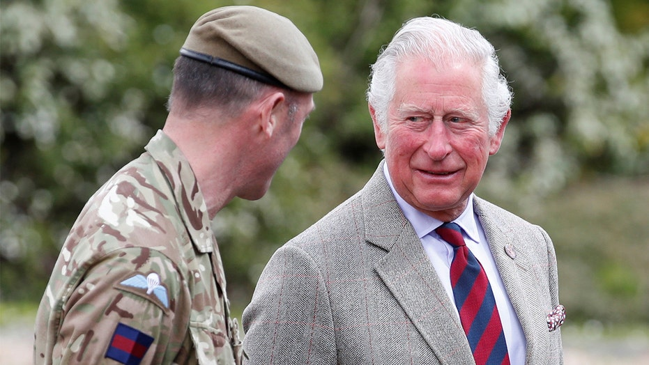 Prince Charles thanks Welsh Guards for participating in Prince Philip's funeral: 'You did him proud'
