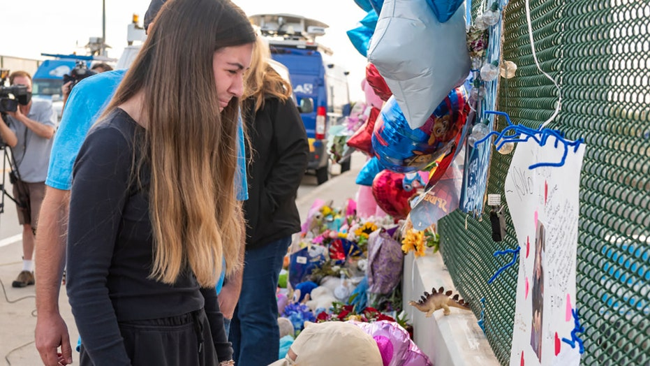 California family members hold vigil for boy, 6, shot dead in apparent road-rage incident