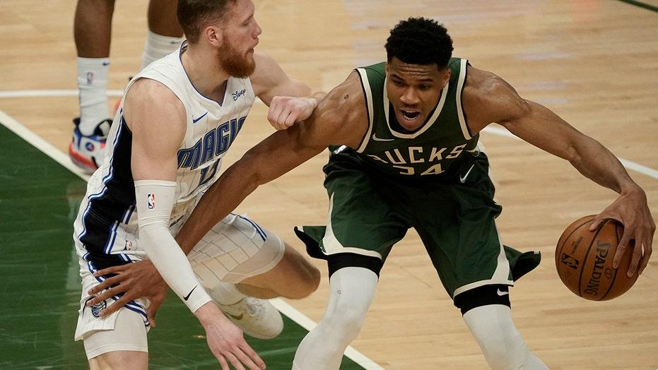 Antetokounmpo lifts Bucks past Magic, 114-102
