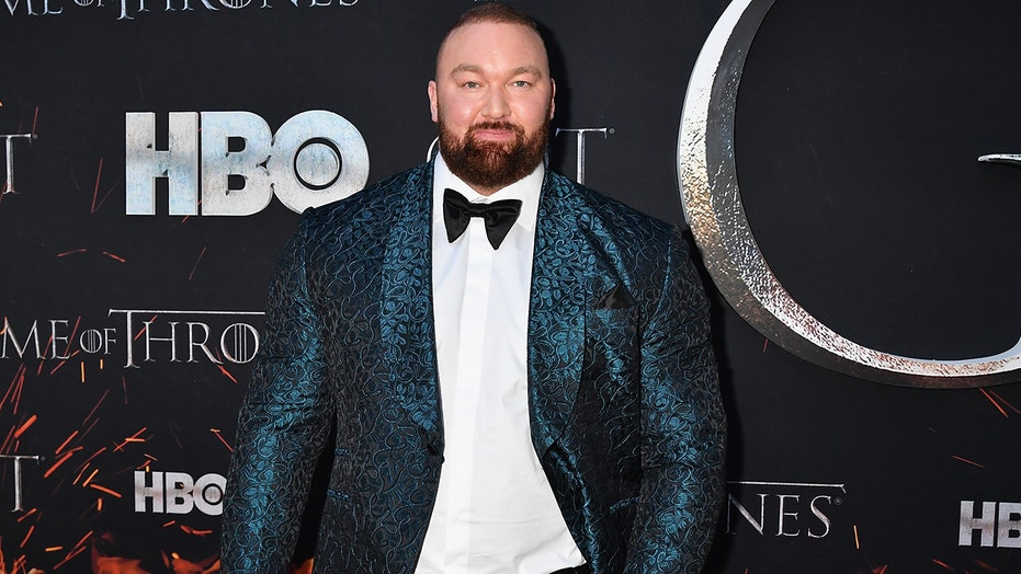 'Game of Thrones' star Hafthor Bjornsson, who played The Mountain, shows off 110-pound weight loss