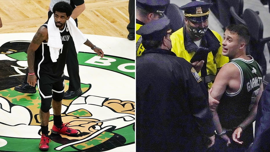 Celtics fan accused of throwing bottle at Nets' Kyrie Irving arraigned, ordered to stay away from TD Garden