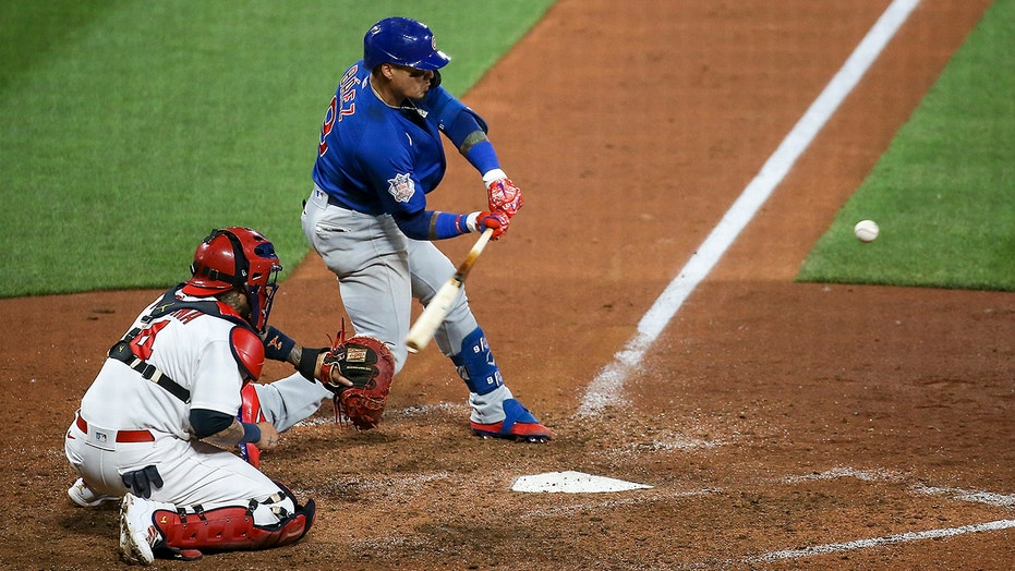 Baez's HR in 10th leads Cubs to 2-1 win over Cardinals