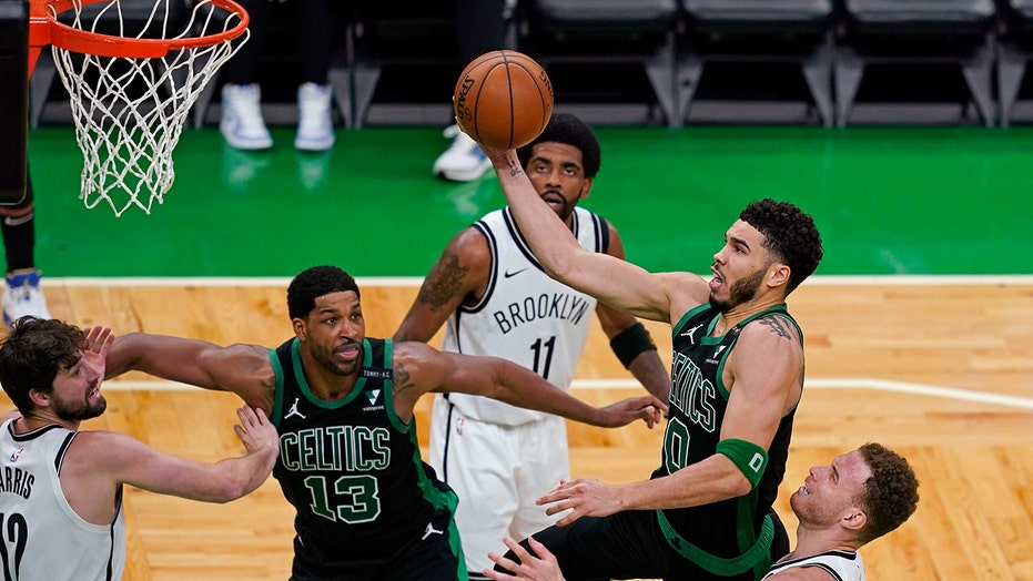 Tatum's 50 points carry Celtics over Nets 125-119
