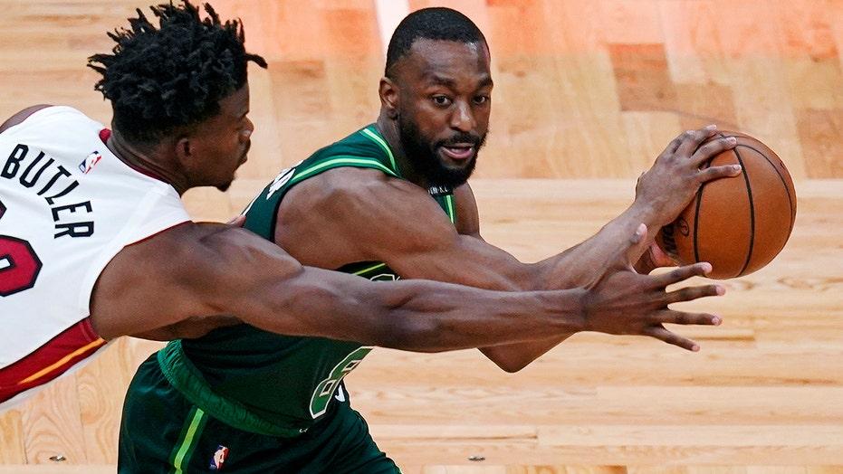 Celtics' Kemba Walker raises eyebrows with Gadsden flag on jacket before game