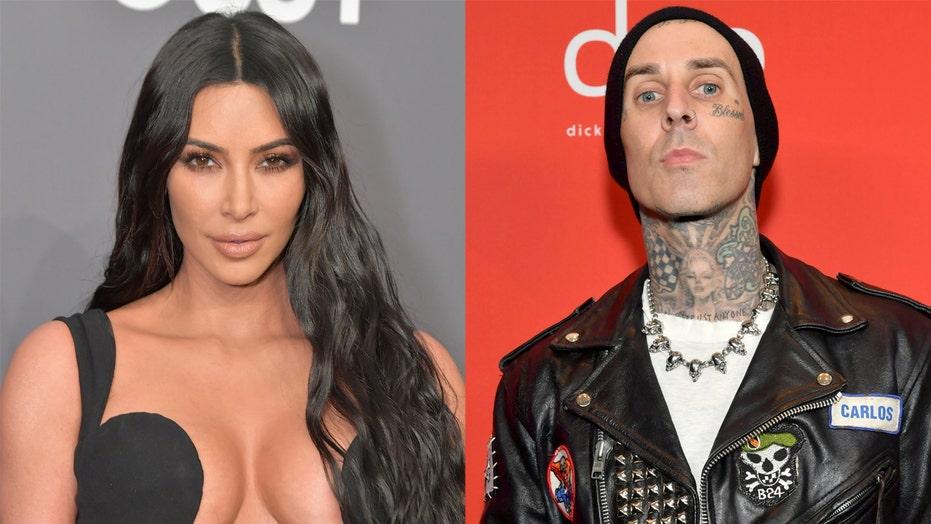 Kim Kardashian denies affair with Travis Barker: 'False narrative'