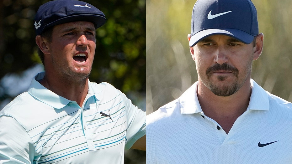 Brooks Koepka loses train of thought during interview, rolls eyes when Bryson DeChambeau walks by