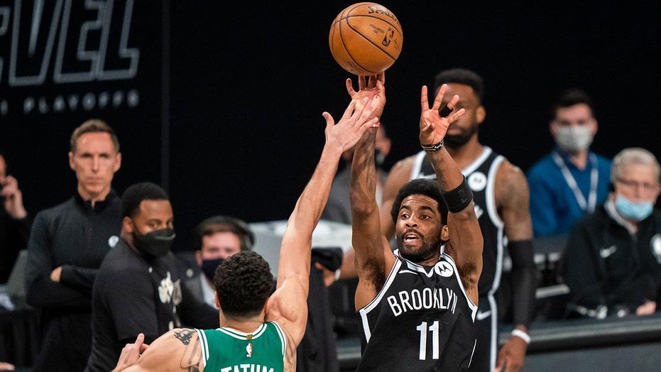 Nets recover from stars' slow start, beat Celtics 104-93