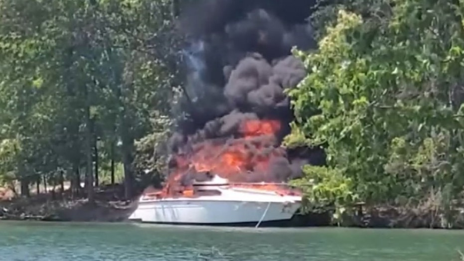 Boat explodes on Georgia's Lake Lanier; 3 hospitalized, including 2 teens, fire officials say
