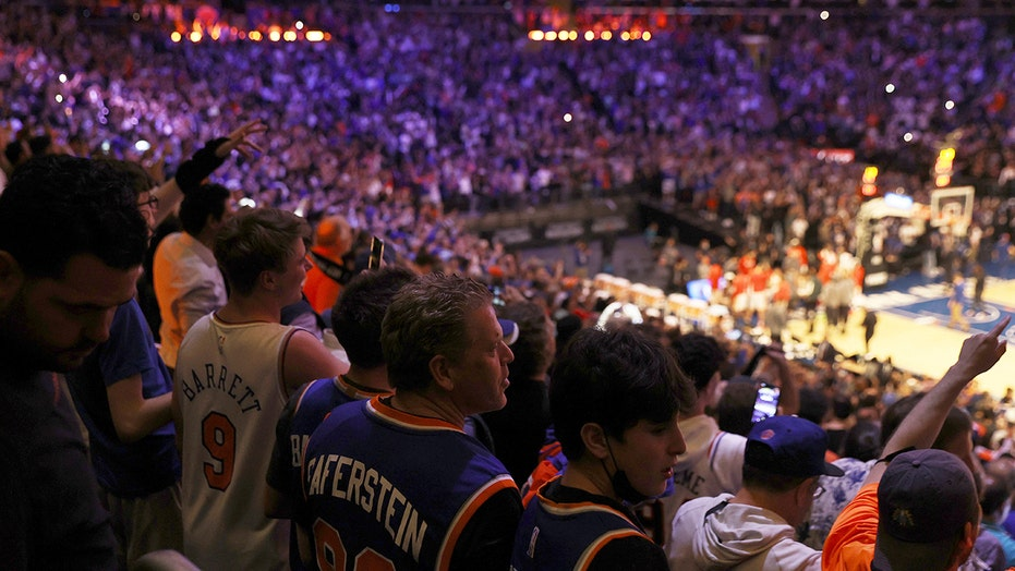 Sports fans come back to arenas and stadiums after year at home — and so does their wild behavior