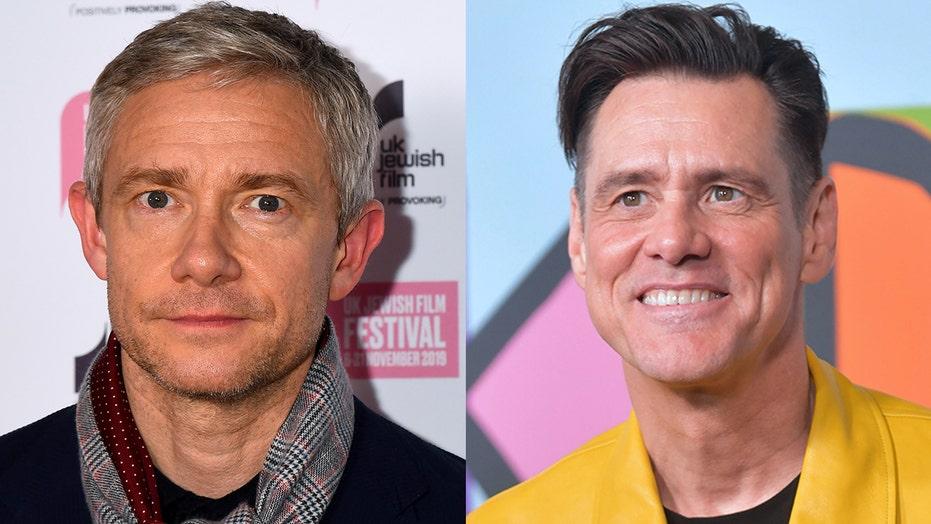 Martin Freeman slams Jim Carrey's 'Man on the Moon' method performance as 'narcissistic,' 'literally deranged'