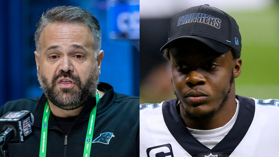 Panthers' Matt Rhule 'disappointed' with Teddy Bridgewater's public criticism of team's practice style