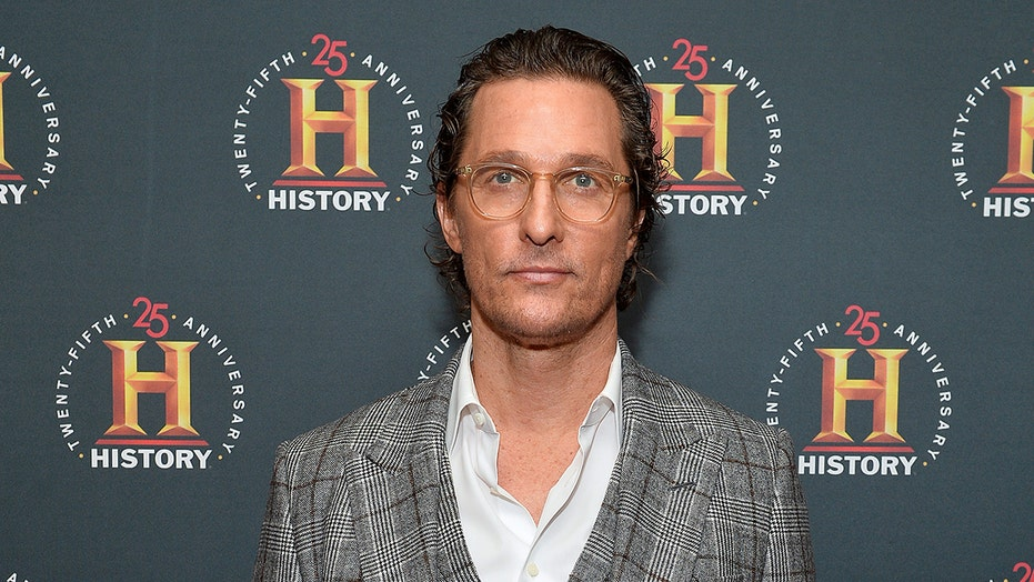 Matthew McConaughey speaks out against mask hesitancy amid rumors he's running for Texas governor
