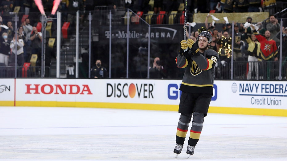 Janmark has hat trick to lead Vegas to Game 7 win over Wild