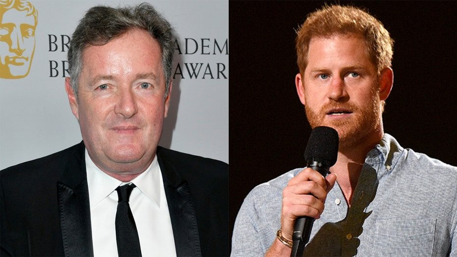 Piers Morgan slams Prince Harry over First Amendment comments, calls it 'Meghan-inspired psychobabble'