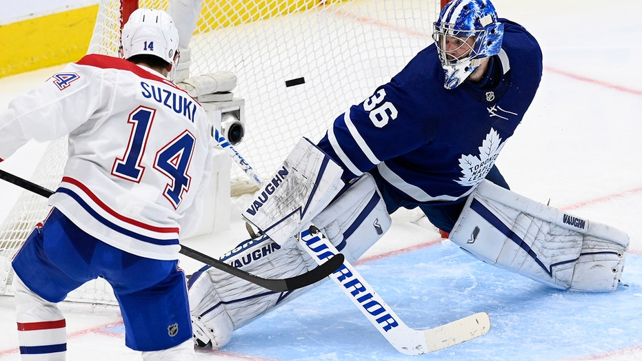Canadiens beat Maple Leafs 4-3 in OT to force Game 6