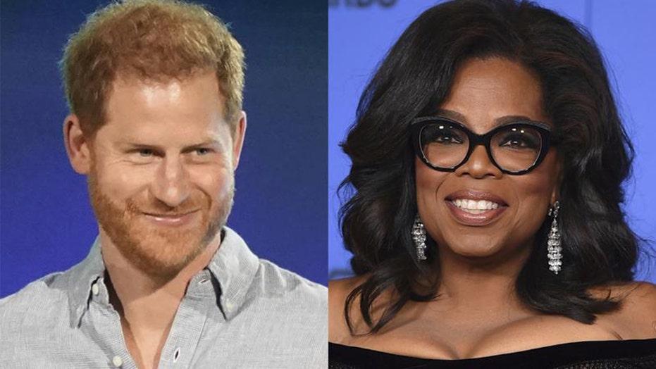 Prince Harry, Oprah Winfrey team up for Apple TV+ mental health series