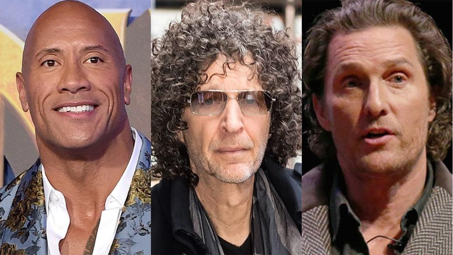 Howard Stern warns Dwayne 'The Rock' Johnson, Matthew McConaughey against starting political careers