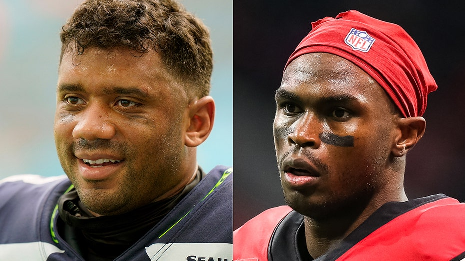 Seahawks' Russell Wilson spoke to Julio Jones about teaming up in Seattle: report