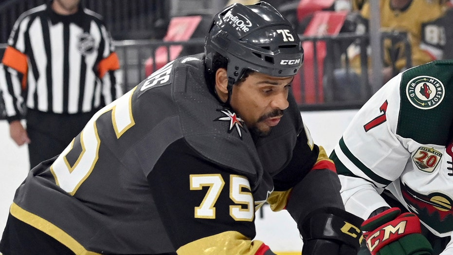 Golden Knights' Ryan Reaves under fire for dangerous hit on Avalanche player