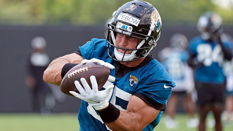 Jaguars' potential Tim Tebow usage being speculated as he fights for roster spot