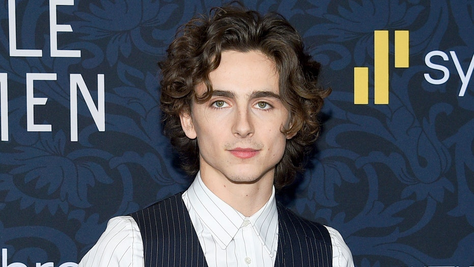 Timothee Chalamet debuts Willy Wonka costume for upcoming prequel film: 'The suspense is terrible'