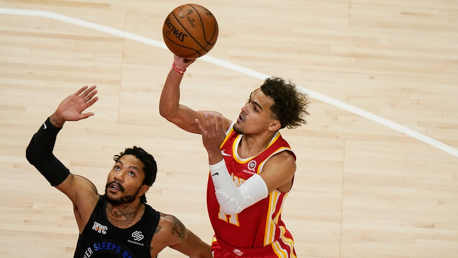 After spitting incident, Young, Hawks beat Knicks 105-94