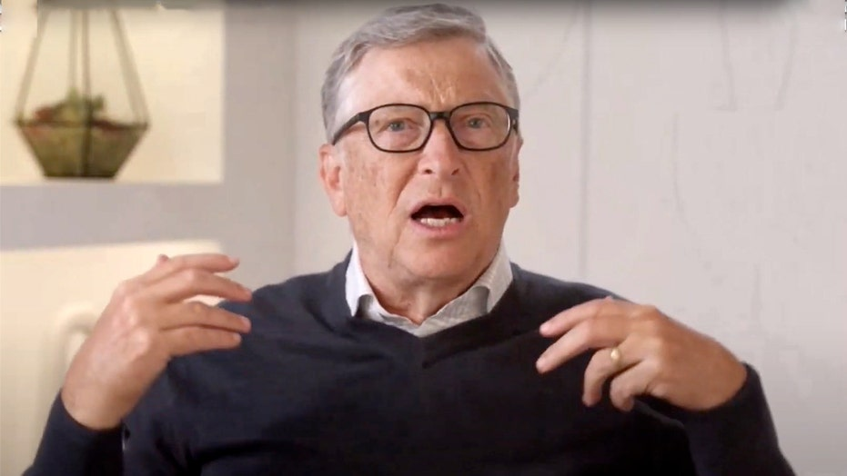 Bill Gates wears wedding ring at first public event since announcing divorce from Melinda