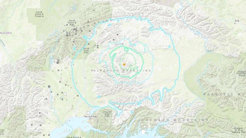6.1 magnitude quake rattles Alaska