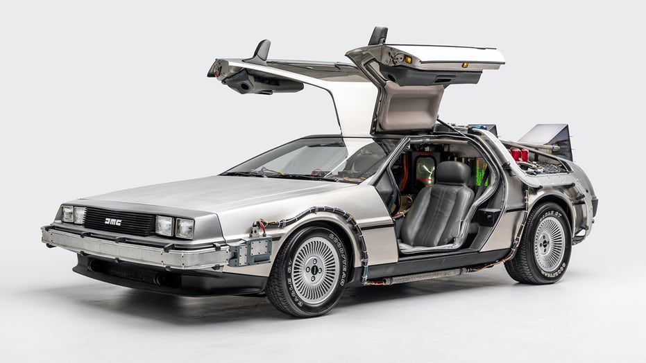 'Back to the Future' DeLorean added to National Historic Vehicle Register