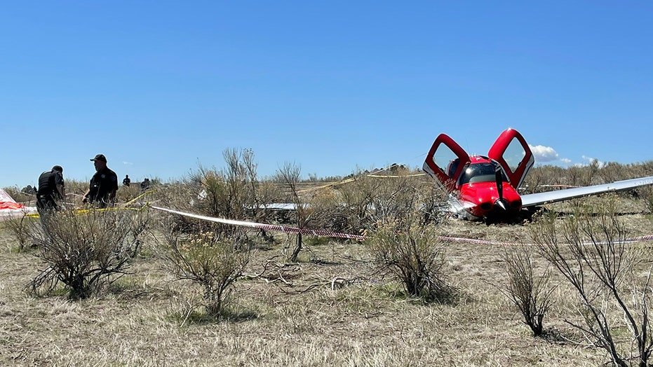 2 small airplanes collide midair above Denver, no one injured, authorities say