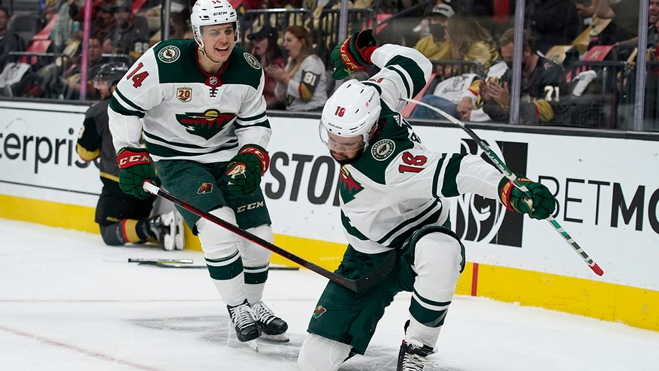 Wild stave off elimination with just 14 shots, top Vegas 4-2