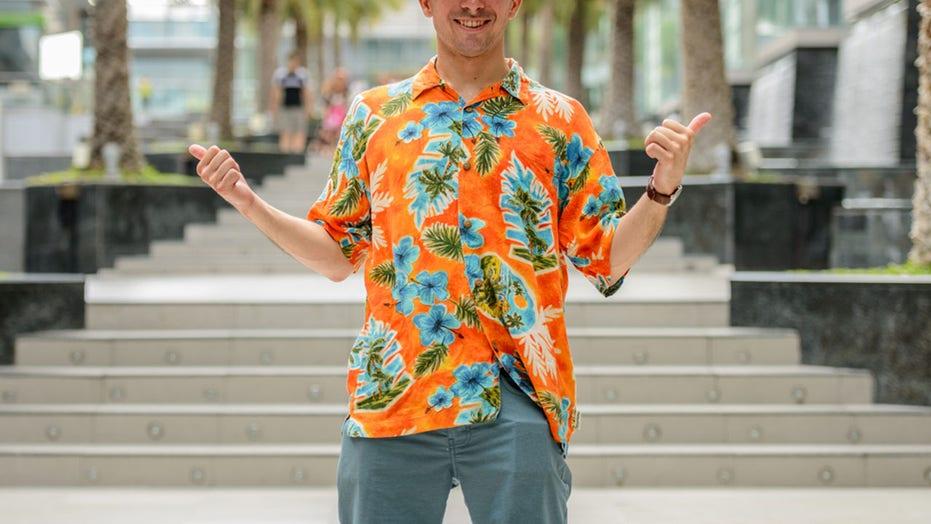 Hawaiian shirts are making a comeback