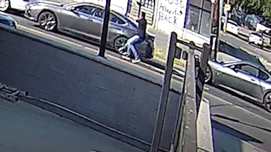 Washington DC police searching for Maserati driver who opened fire on car in apparent road rage incident