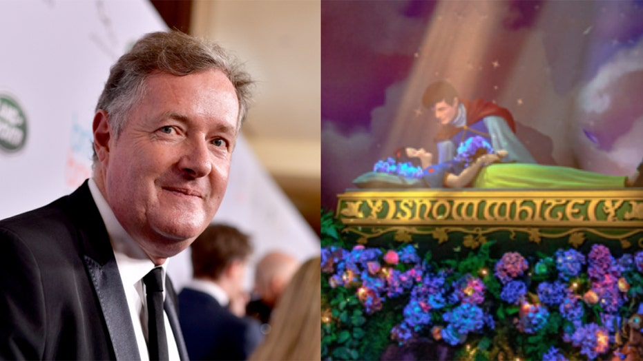 Piers Morgan slams consent criticism over revamped Snow White ride at reopened Disneyland