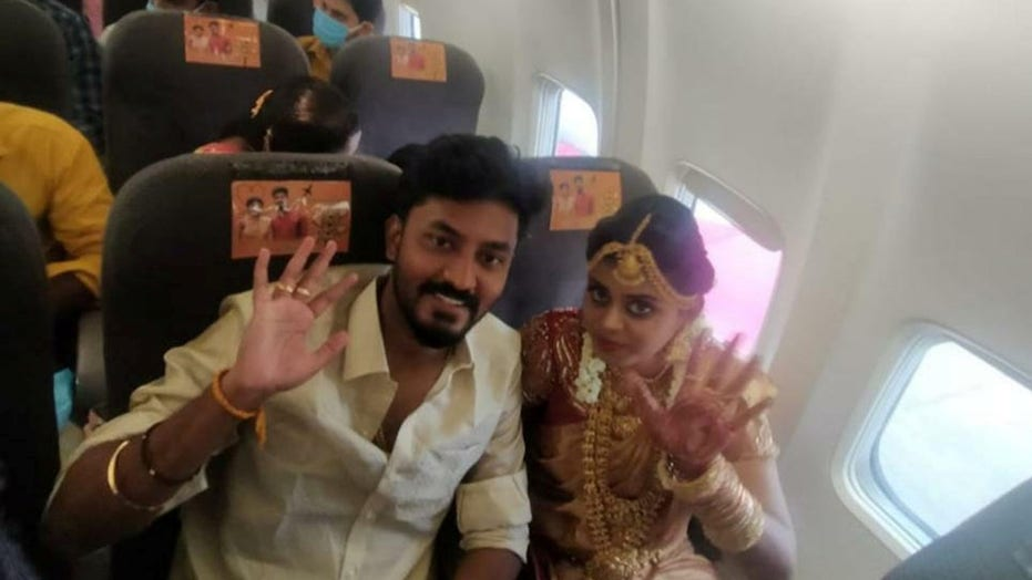 Couple gets married on flight, gets in trouble for breaking COVID regulations