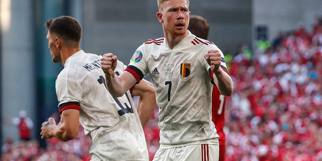 Belgium beats Denmark 2-1 in game marked by Eriksen tribute