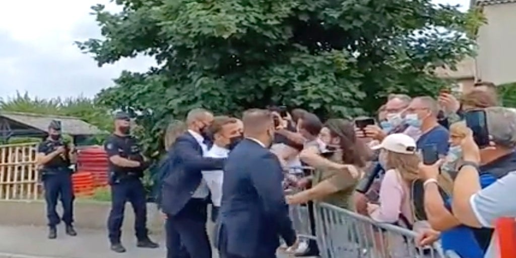 French man who slapped Macron across the face is sentenced to 4 months in prison