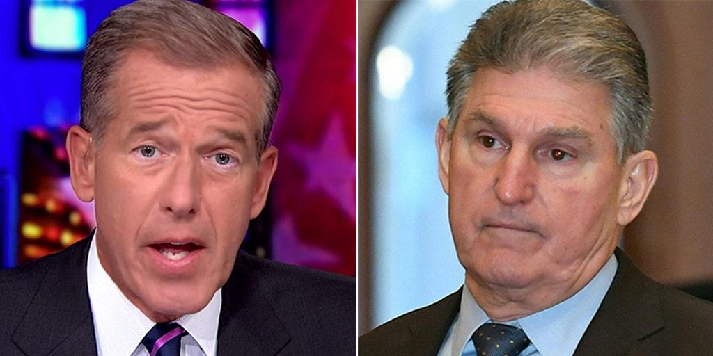 MSNBC's Brian Williams blasts Joe Manchin as living in world 'of his own imagination' - Fox News