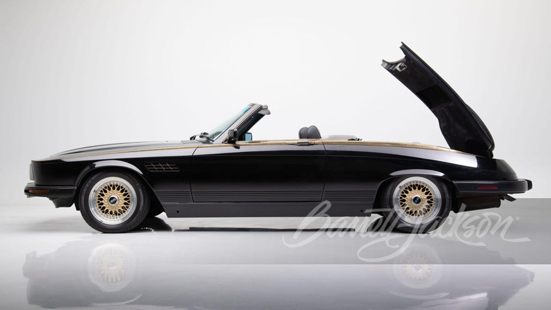 Wayne Newton's wild custom Mercedes-Benz