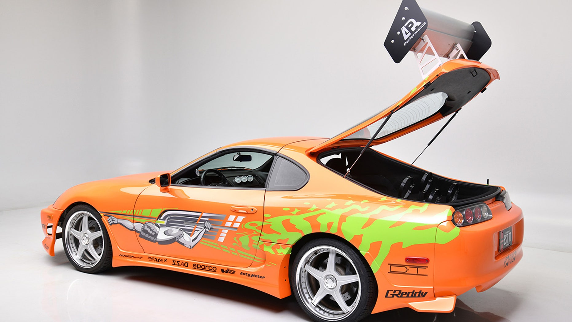 Paul Walker's 'Fast and Furious' Toyota Supra