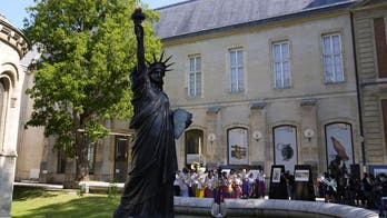 France is sending a new Statue of Liberty to the US for July 4, but this time it's mini