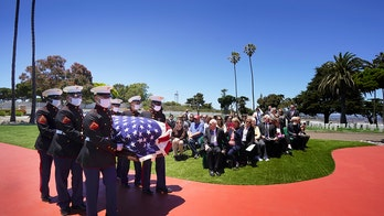 Marine killed at Pearl Harbor laid to rest in California