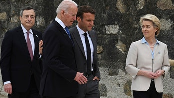 LIVE UPDATES: Biden meets with Macron at G-7 summit, as leaders agree on coal actions