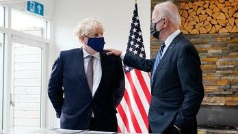 Dana Perino on 'Kilmeade Show': Biden ignoring questions during Boris Johnson meeting 'looked terrible'