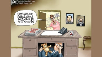 Political cartoon of the day: Nowhere to hide