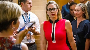 Kyrsten Sinema: Dems hypocritical for trying to end filibuster after using it 'just last year'
