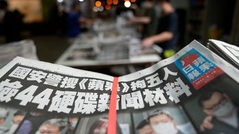 Hong Kong newspaper editors arrested under China national security law