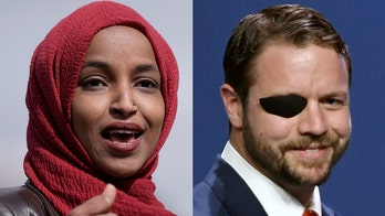 Omar takes aim at Crenshaw's high-earning district after Republican supports election security bills