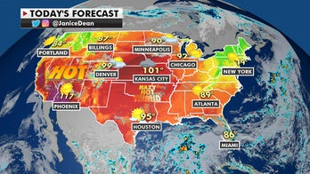 National weather forecast: Heat wave to continue as rainfall, flooding expected to soak Gulf Coast, Southeast