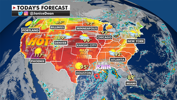 National weather forecast: Heat continues to threaten West, tropical storm warnings issued for Gulf Coast